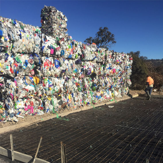 INDUSTRIAL SLAB - HUME RECYCLING CENTRE